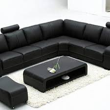 Large Black Leather Sofa Large Black Leather Corner Sofa Buildsimplehome