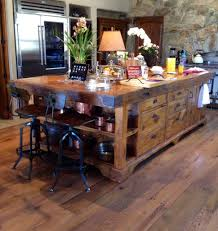 Farm Table Kitchen Island by Reclaimed Granary Board Center Island Farmhouse Table Board And