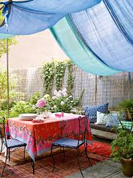 moroccan print outdoor patio shabby chic style with wool area rugs