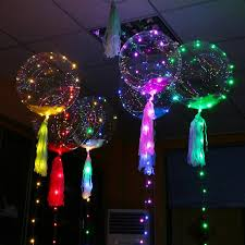 balloons shaped like light bulbs 18 inch luminous led balloon 5m led air balloon string lights round