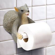 Animal Toilet Paper Holder by Exclusive Squirrel Toilet Paper Holder Easy Wall Mount Walmart Com