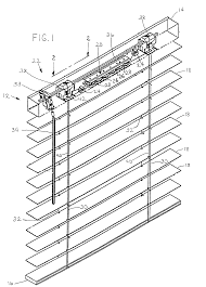 patent us7025107 one way tensioning mechanism for cordless blind