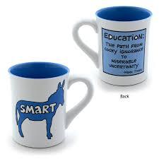 enesco cup graduation gift present mark twain funny smart