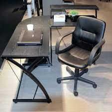 Adjustable Height Desk Chair by Compare Prices On Black Office Chairs Online Shopping Buy Low