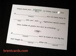 response card wording wedding response card wording free card design ideas
