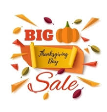 thanksgiving coupon vector images 750