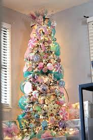 mesh ribbon ideas christmas tree decorating ideas with mesh ribbon best candy land