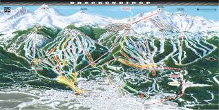 China Peak Map by Breckenridge Colorado Ski North America U0027s Top 100 Resorts Project