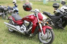 suzuki motorcycle green rustenburg south africa march 3 2017 parked red suzuki