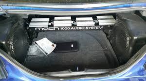 mustang shaker sound system 99 04 mach 1000 audio mustang evolution