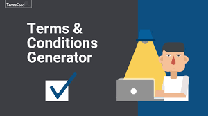 terms and conditions generator termsfeed