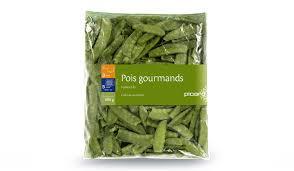 cuisiner pois gourmand pois gourmands surgelés les légumes picard