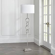 Overhanging Floor Lamp Chic Floor Lamps To Brighten Your Home Crate And Barrel
