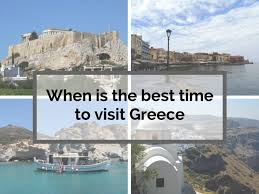 when is the best time to visit greece