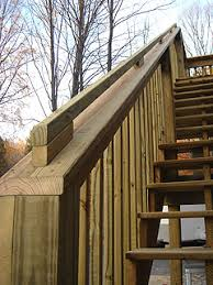 how to build handrails for second floor deck stairs