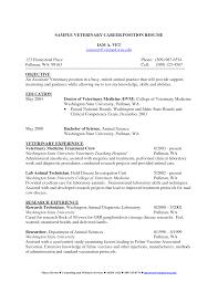 electronics technician resume samples resume for vet tech veterinary technician resume template resume veterinary resume objective examples veterinary technician