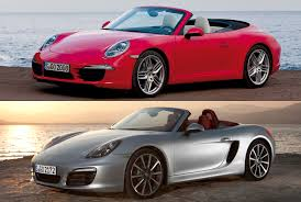 red porsche convertible porsche vs porsche a road test fortune