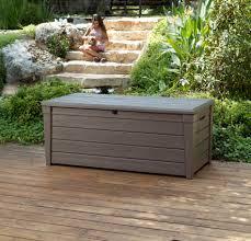 diy outdoor storage bench seat bench decoration