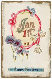 new year s postcards vintage new years postcard january 1st stock illustration