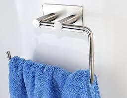 Amazon Com Xogolo Bathroom Lavatory Towel Holder 3m Self