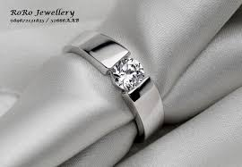 cincin emas putih cincin rorojewellery cincin pernikahan model cincin