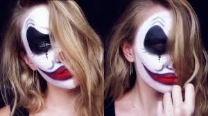 Halloween Makeup Clown by Evil Clown Halloween Makeup Youtube
