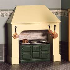 the dolls house emporium stone coloured stove surround