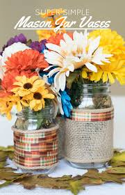Simple Vase Centerpieces Easy Diy Centerpieces For Fall Carrie Elle