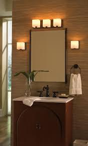 Rustic Bathroom Mirror - bathroom rustic bathroom lighting 3 light vanity fixture