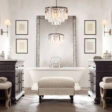 chandelier mini crystal chandelier for bathroom bronze
