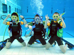 kids scuba camp 2014 underwater phantaseas scuba gear diving