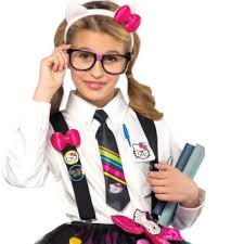 Kitty Halloween Costumes Kitty Nerd Accessory Kit Tween Girls Party