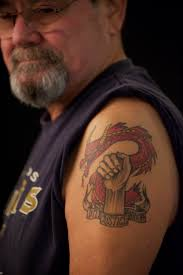 comrades on arms exhibit explores military tattoos the columbian
