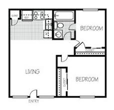 exceptional one bedroom home plans 10 1 bedroom house plans floor plan of a 2 bedroom house ideas the