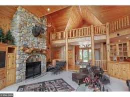 Beautiful Log Home Interiors 12402 Abc Drive Crosslake Mn Jim Apple