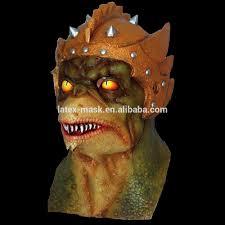creative lizard reptile alien terrorist halloween mask scary latex