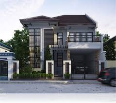 Simple Two Storey House Design by Fancy Idea 1 New House Design 2017 House Design Homeca