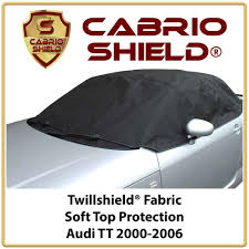 audi tt car hood soft top cover half cover protection 2000 2006 ebay