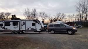 nissan titan camper nissan armada towing new youtube