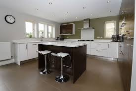 used kitchen island large symphony used kitchen with corian worktops island