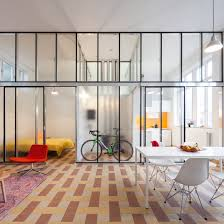 10 home interiors featuring partition walls from dezeen u0027s