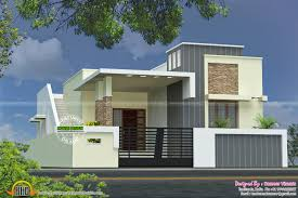 kerala home design flat roof elevation front elevation of single floor house kerala ideas and flat roof