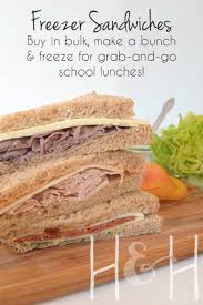 make ahead and freeze thanksgiving recipes freezer sandwiches to simplify your lunch routine busy busy