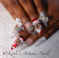 mickey and minnie mouse christmas nail art gallery
