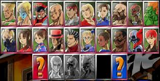 from street fighter main character name street fighter ex2 plus character select screen quiz by jdgm