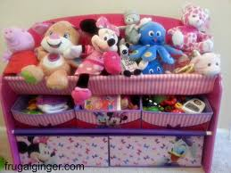 toy organizer clean up the clutter with minnie deluxe book u0026 toy organizer