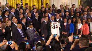 White House Tours Obama by San Francisco Giants Visit White House Mlb Com