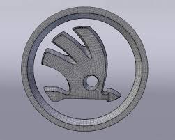 lexus logo earrings skoda logo free 3d model in parts of auto 3dexport