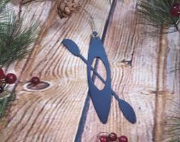 canoe ornament etsy