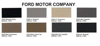 what interior color is 2h related to riffraff purchase ford